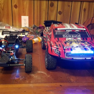 Arrma Mega and Fury BLS