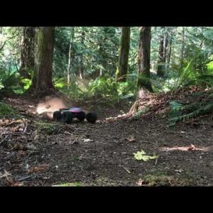 Arrma Kraton 6s ripping up the woods