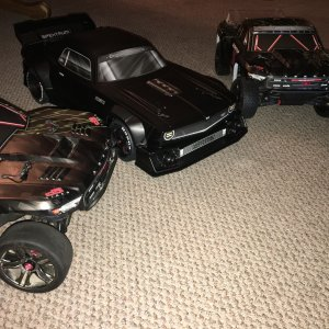 Arrma power! 6s+6s+6s= AWESOME