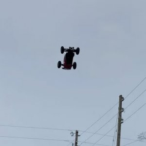 ARRMA v3 TALION - Hitting 25ft + Back-flips and Huge Airs