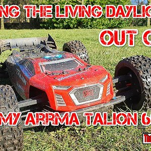 Bashing the living daylights out of my Arrma Talion 6s BLX RC. New M2c Chassis. This is one tough RC