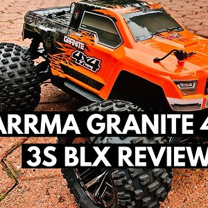 New Arrma Granite 4x4 3S BLX Review And Unboxing
