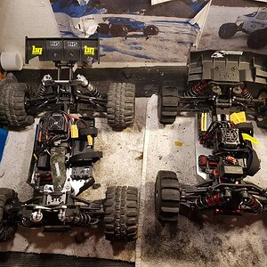 ARRMA Siren 6s BLX 1/10th 4wd truck By TpParts RcXtreme