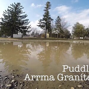 Arrma Granite 4x4 BLX - Puddle Run