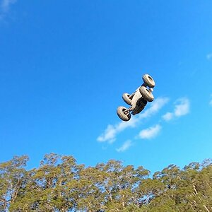 Jump Practice Arrma Kraton and Talion V3 6s