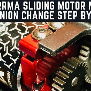 ARRMA Sliding Motor Mount Change A Pinion On New Arrma V4's