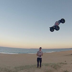 Arrma Talion with Kraton Tyres Hits the Beach