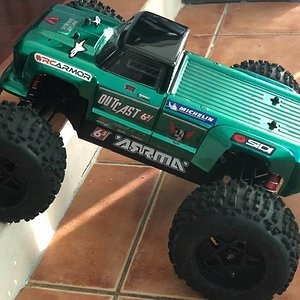 New Body for my Notorious 6s Stunt Truck