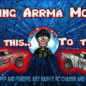 Upgrading The Arrma Mojave 6s, Just Bash It RC Chassis and braces, T-bone bumper+ fenders and more.